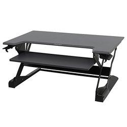 Ergotron WorkFit-TL Sit-Stand Desktop Workstation black