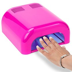 Salon Sundry - Professional 36 Watt Uv Beauty Salon Nail Dryer - Pink