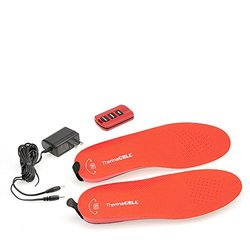 ThermaCELL Original Heated Insoles - Red - Size: Large