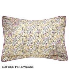 Bedeck 1951 Damara Oxford Pillow Case - Multi - Size: King
