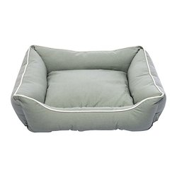 "Dog Gone Smart Lounger Bed - Eco Green - Size: Medium - 26""x 24"""