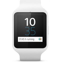 Sony Digital Dial 3 SWR3 Unisex Android Smartwatch - White