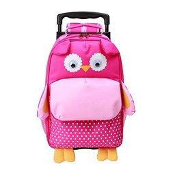 Yodo Zoo 3-Way Toddler Backpack Rolling Suitcase Luggage - Owl