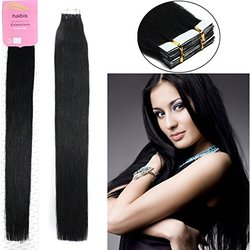 habis Remy Human Hair Extensions Tape - 20Ct.