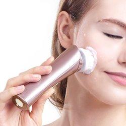 SKG Electric Facial Brush Skin Cleansing System - Golden