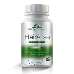 Wholly Nutrients Alopecia Treatment Hair Growth Formula