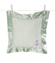 Little Giraffe Chenille Pillow - Celadon