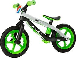 Chillafish BMX Balance Bike with Airless RubberSkin Tires - Lime