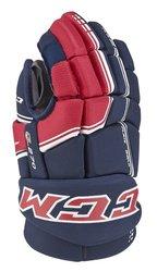 CCM QLT 270 Junior Ice Hockey Gloves - Black - Size: 10