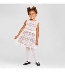 Genuine Kids Toddler Girl's A Line Dress - Almond Cream