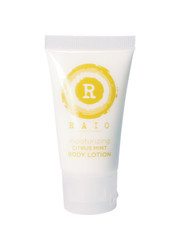 Raio 15mL Moisturizing Body Lotion Tube - Citrus Mint - Case Of 144