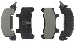 Axxis 45-02890X Extended Duty Premium Metallic Brake Pad Set