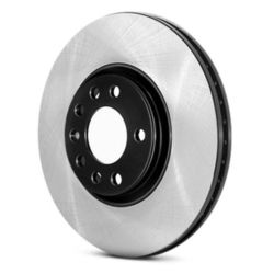 Centric Premium Brake Rotor with E-Coating