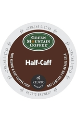 Green Mountain Coffee Half Caff K Cups - 4 Boxes of 24 K-Cups