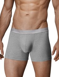 Separatec Men's Separate Pouches Boxer Briefs - 3Pk - Gray - Small