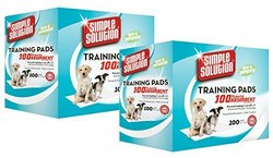 Simple Solution Puppy Training Pads - 200 Count