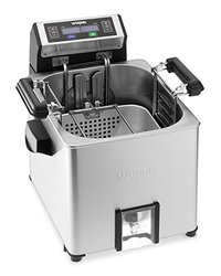 Waring TF250 Digital Rotisserie Turkey Fryer & Deep Fryer Steamer - Silver