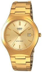 Casio MTP1170N-9A Men's Stainless-Steel Quartz Watch - Gold
