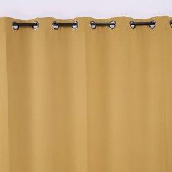 "Deconovo 100x84""Grommet Thermal Blackout Window Curtain - Mustard"
