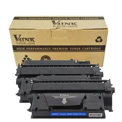 V4INK Black Toner Cartridge for HP LaserJet Pro - 2Pk (ZNH-CF280X-C22)