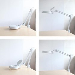 OxyLED M10 Ultra-Efficient Clamp-Mount 90 SMD LED Magnifier Lamp