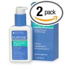Purpose SPF-15 Dual Treatment Moisture Lotion - Pk of 2/4oz each