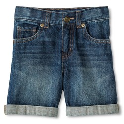 Cherokee Toddler Boys' Jean Short - Blue - Size: 5T