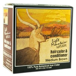 Select Nutrition Hair Color - Brown - Size: Medium - 4 OZ