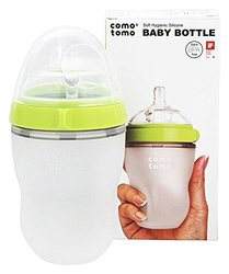 Comotomo Baby Bottle Green8.0oz 1