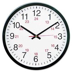 Universal 24-Hour Round Wall Clock