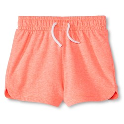 Circo Toddler Girls' Knit Shorts - Moxie Peach - Size: 2T