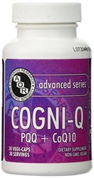 Cogni Q with 20mg PQQ and 300mg CoQ10 - 30 VeggieCapsules