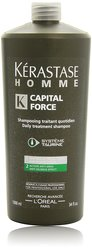 Kerastase Homme Capital Force Daily Treatment Shampoo - 34Oz