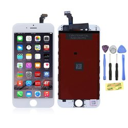 """Flylinktech iPhone 6 plus 5.5"""" Touch Screen LCD Assembly - White"""