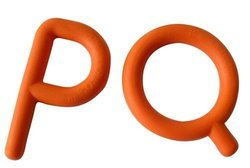 Chewy Tubes P's & Q's Soothe Baby Gum - Orange (SP1027)