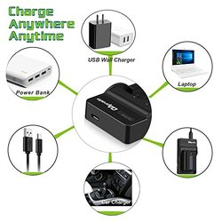 OAproda High Efficient Micro USB Battery Charger for LP-E12 Battery