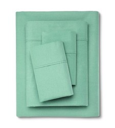 Threshold 300 Thread Count Organic Cotton Sheet Set - Alpine -Size: Full