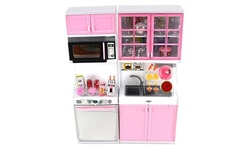 Modern Kitchen 16' Battery Operated Toy Kitchen Playset