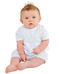 Baby Boys 6 Month Knit Christening or Baptism Romper