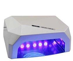 Lumcrissy 36W Nail Dryer Professional CCFL & LED UV Nail Lamp - White