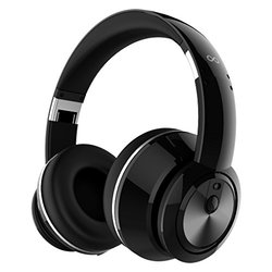Alienvibes Bass Boost Active Noise Cancellation Headphones (I-EP03-BK)