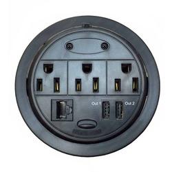 PowerTap Grommet Pop-up Power Data Center (GMPT-1)