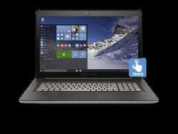 "HP Pavilion M7-N109DX 17.3"" TCH Laptop i7 2.5GHz 1TB 16GB Win 10 - Silver"
