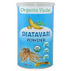 "Organic ""SHATAVARI"" Pure and Natural Hebal Powder - 7 Oz"