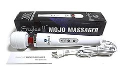 Styles II Mojo HandHeld Massager 10 Pulsation - Great At-Home for Neck, Back, Shoulder, Waist, Feet