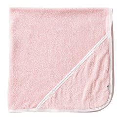 Burt's Bees Baby Knit Terry Single Ply Hooded Towel - Blossom