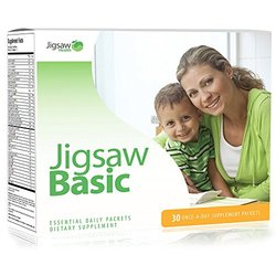 Jigsaw Health Basic Essential Daily Packets: Once Daily Multivitamin Supplement Packet