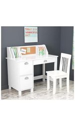 KidKraft Kids' Study Desk with Chair - Espresso