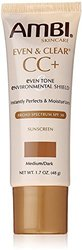 Ambi Even & Clear CC+ Medium/Dark Sunscreen SPF 30 1.7 oz