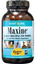 Country Life Vitamins Maxi-Sorb Maxine 120 Vcap